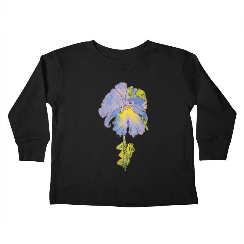Iris Play Kids Toddler Longsleeve T-Shirt by justus's Artist Shop