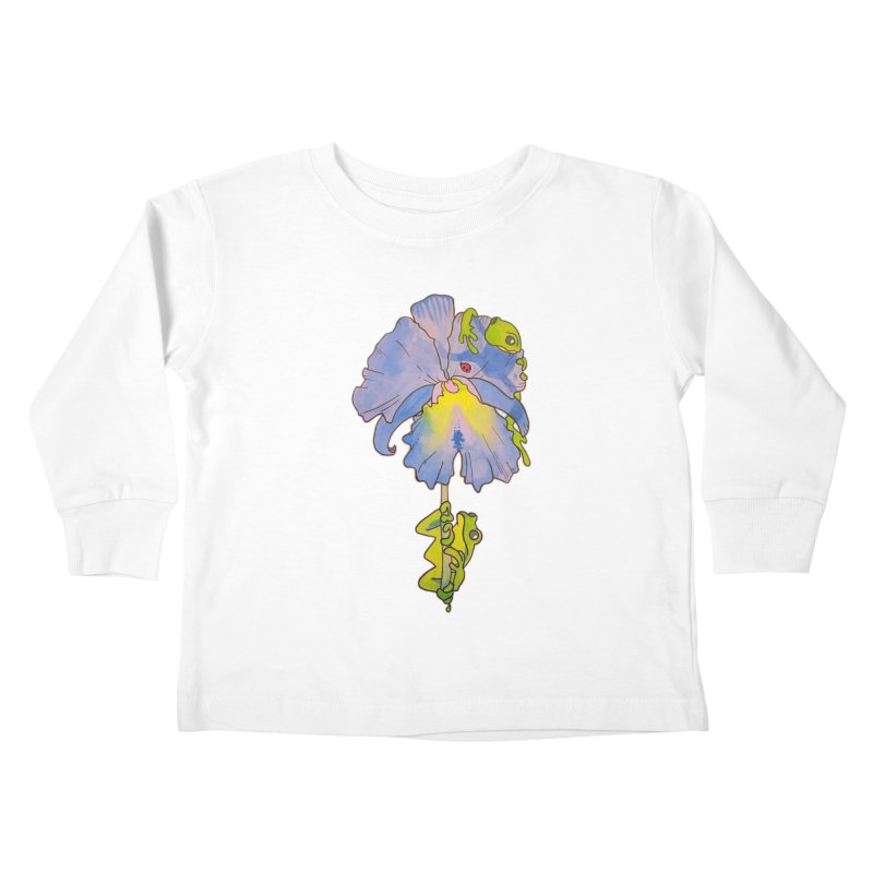 Iris Play Kids Toddler Longsleeve T-Shirt by justus's Artist Shop
