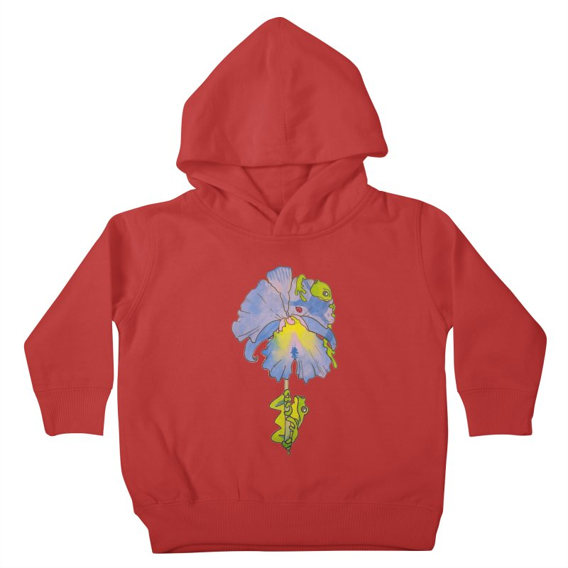 Iris Play Kids Toddler Pullover Hoody by justus's Artist Shop