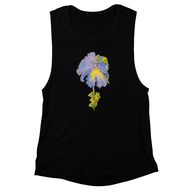 Iris Play Women's Muscle Tank by justus's Artist Shop