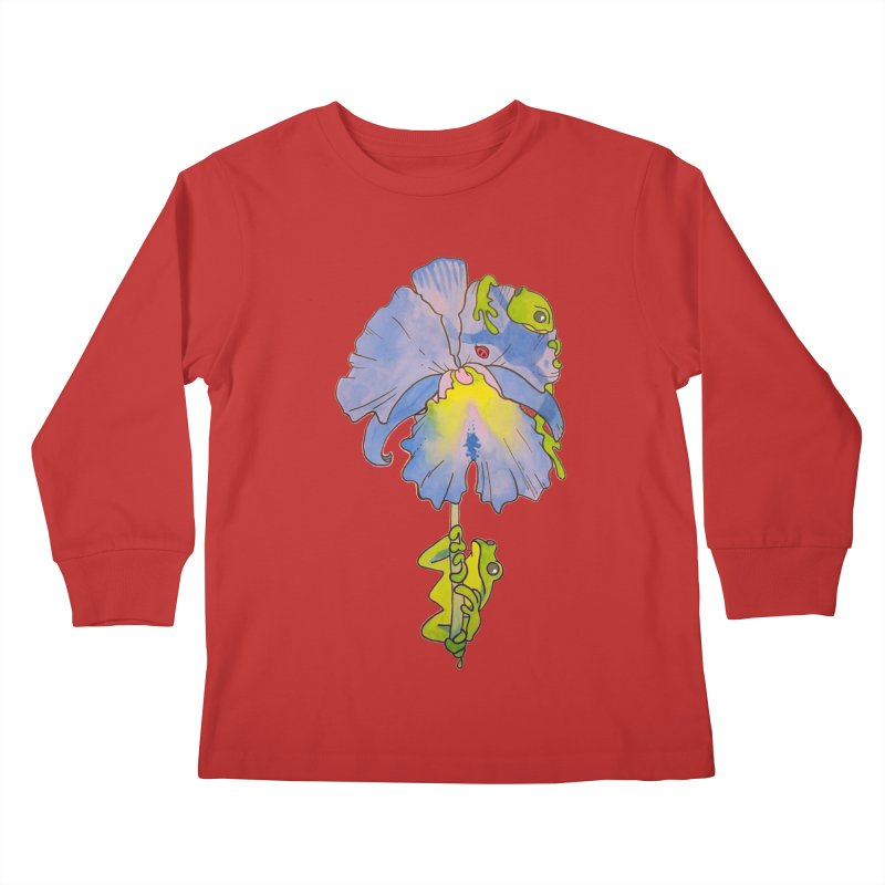 Iris Play Kids Longsleeve T-Shirt by justus's Artist Shop