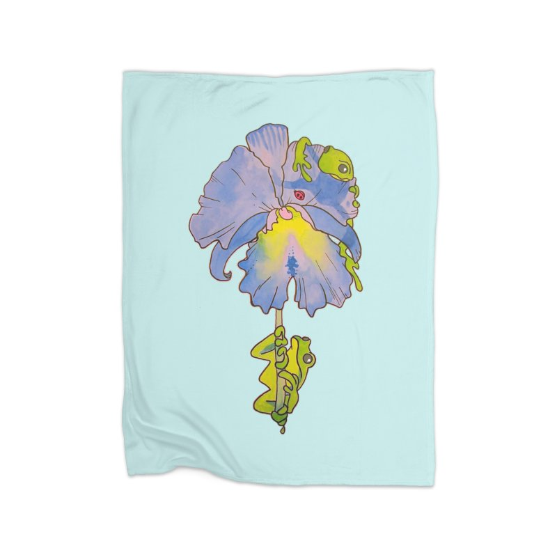 Iris Play Home Blanket by justus's Artist Shop