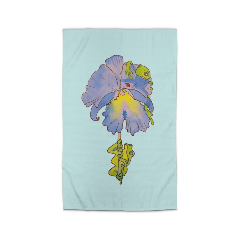 Iris Play Home Rug by justus's Artist Shop