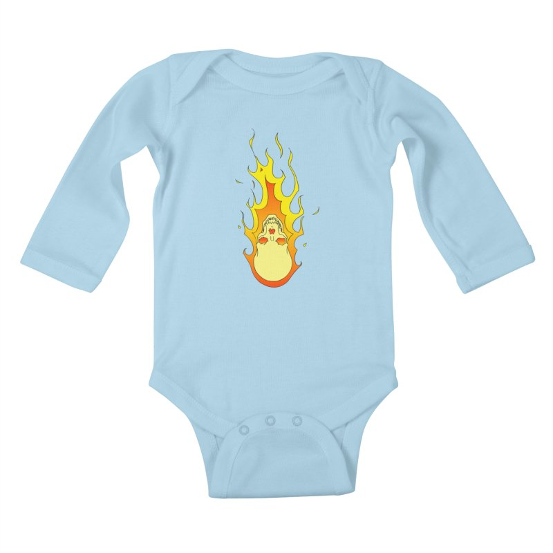 'Rider of the Storm' Kids Baby Longsleeve Bodysuit by justus's Artist Shop
