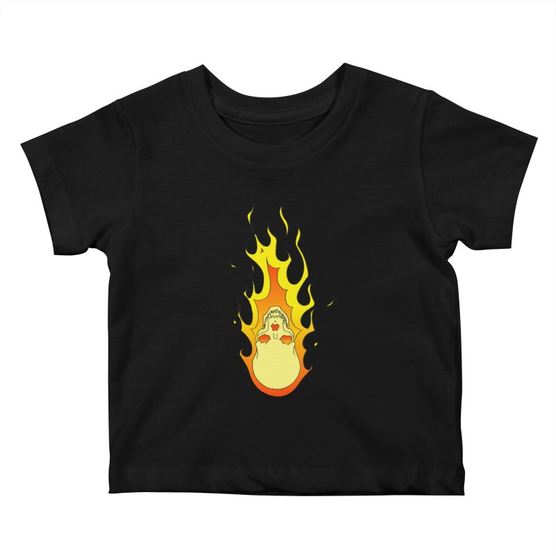 'Rider of the Storm' Kids Baby T-Shirt by justus's Artist Shop