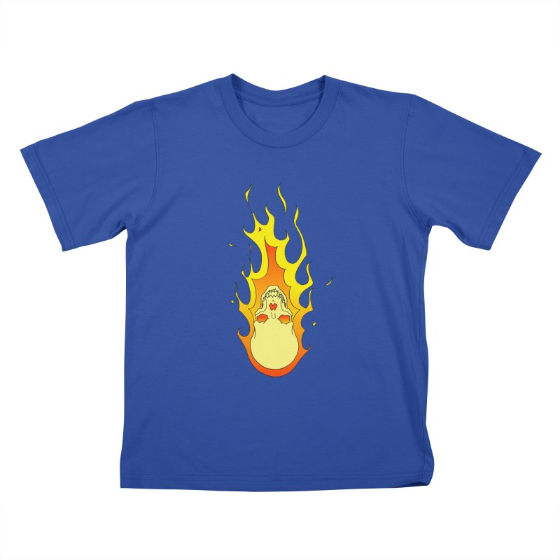 'Rider of the Storm' Kids T-shirt by justus's Artist Shop