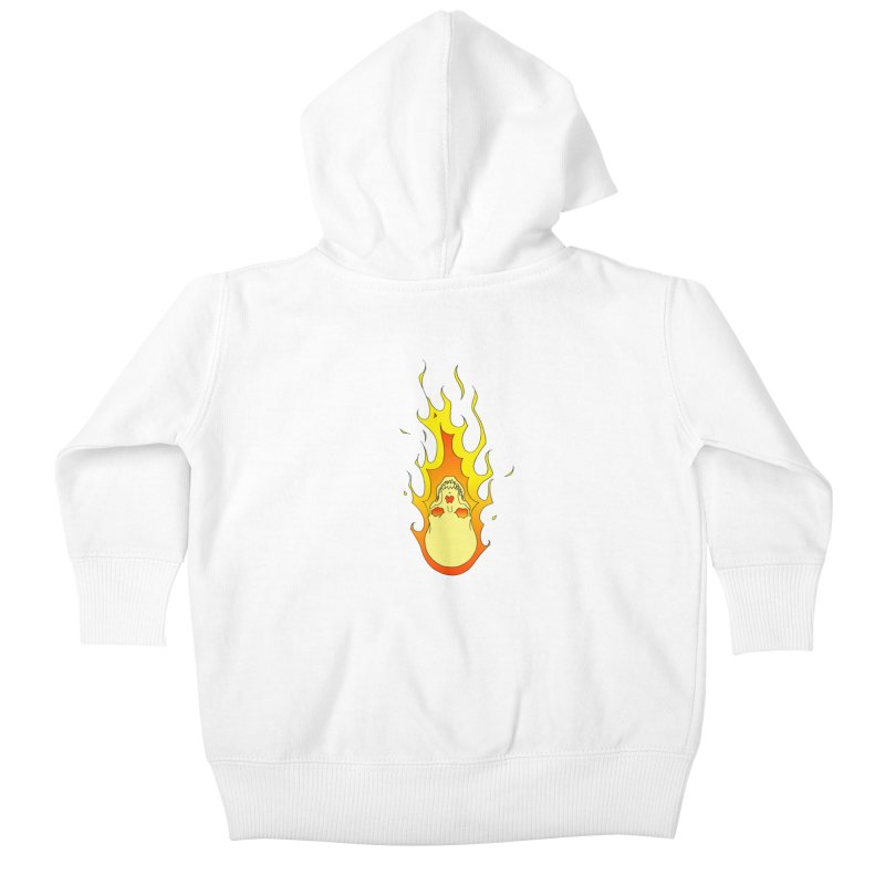 'Rider of the Storm' Kids Baby Zip-Up Hoody by justus's Artist Shop