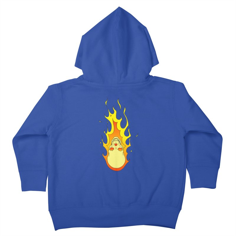 'Rider of the Storm' Kids Toddler Zip-Up Hoody by justus's Artist Shop