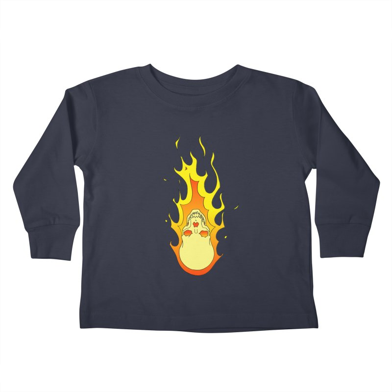 'Rider of the Storm' Kids Toddler Longsleeve T-Shirt by justus's Artist Shop