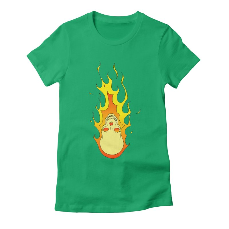 'Rider of the Storm' Women's Fitted T-Shirt by justus's Artist Shop