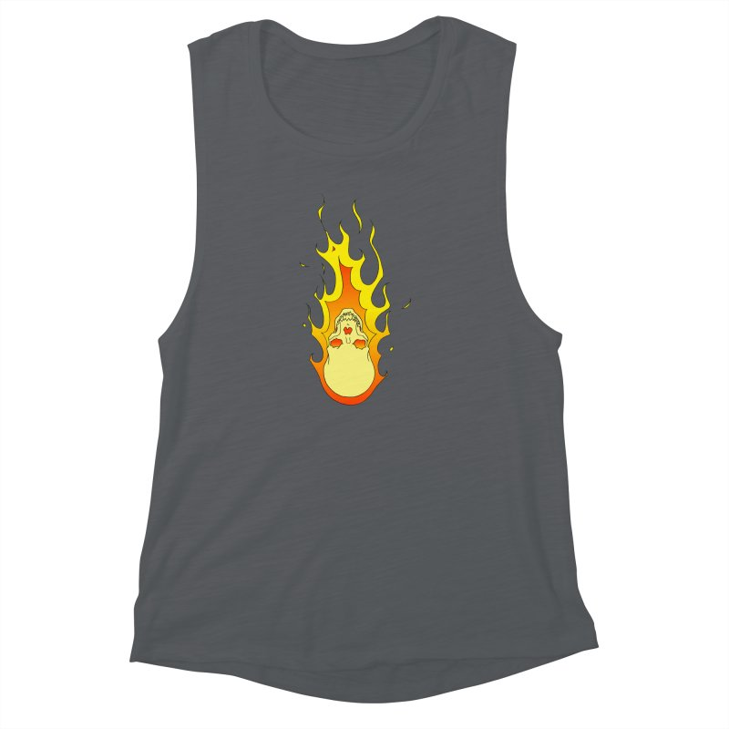 'Rider of the Storm' Women's Muscle Tank by justus's Artist Shop