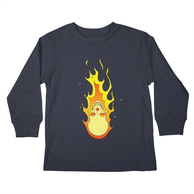 'Rider of the Storm' Kids Longsleeve T-Shirt by justus's Artist Shop