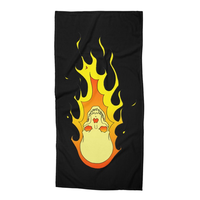 'Rider of the Storm' Accessories Beach Towel by justus's Artist Shop