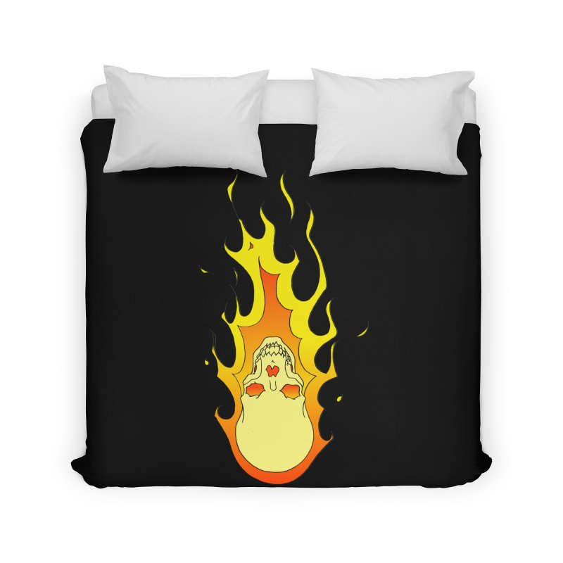'Rider of the Storm' Home Duvet by justus's Artist Shop