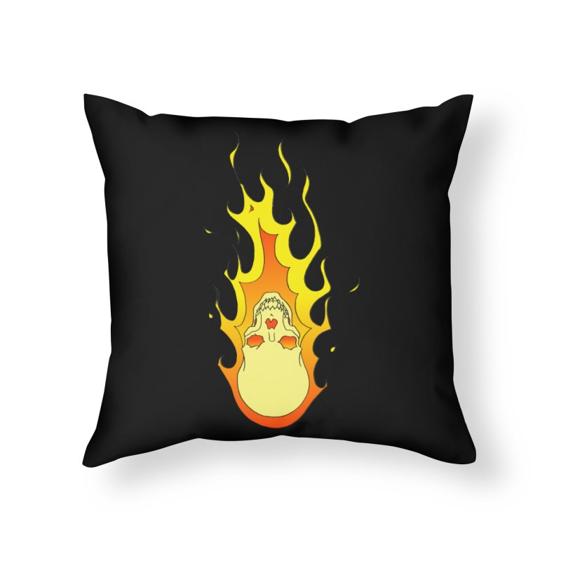 'Rider of the Storm' Home Throw Pillow by justus's Artist Shop