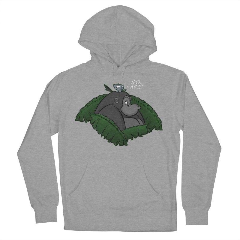 Go, Ape! Women's Pullover Hoody by JVZ Designs - Artist Shop