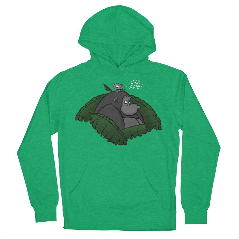 Go, Ape! Men's Pullover Hoody by JVZ Designs - Artist Shop