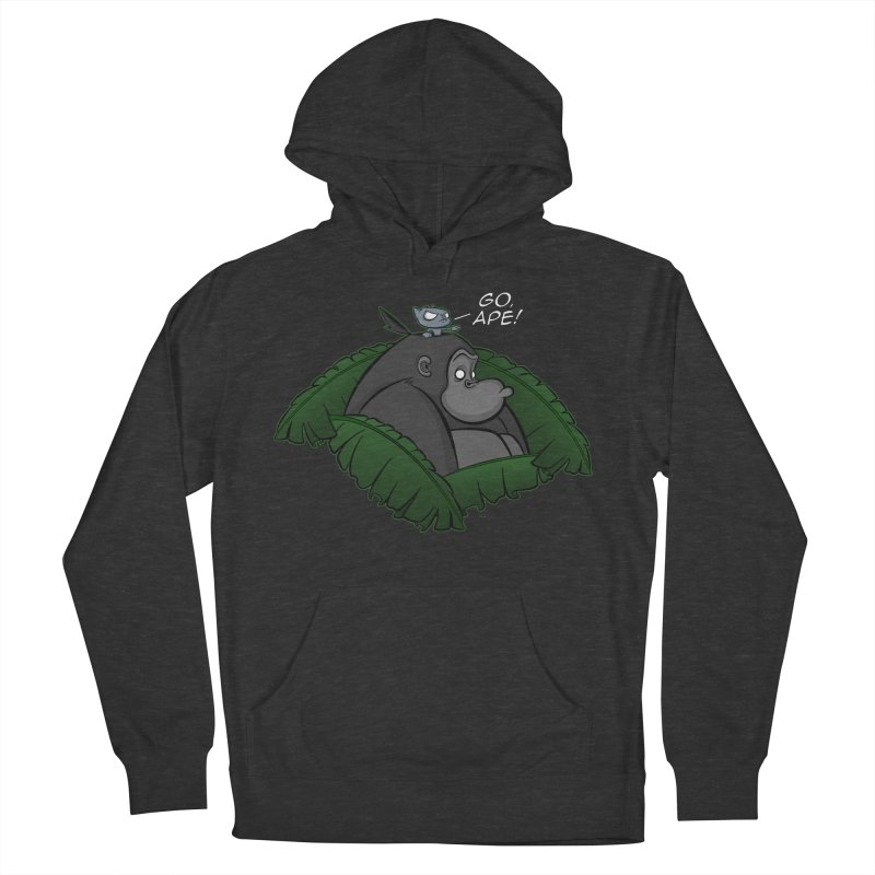 Go, Ape! Men's Pullover Hoody by JVZ Designs - Artist Shop