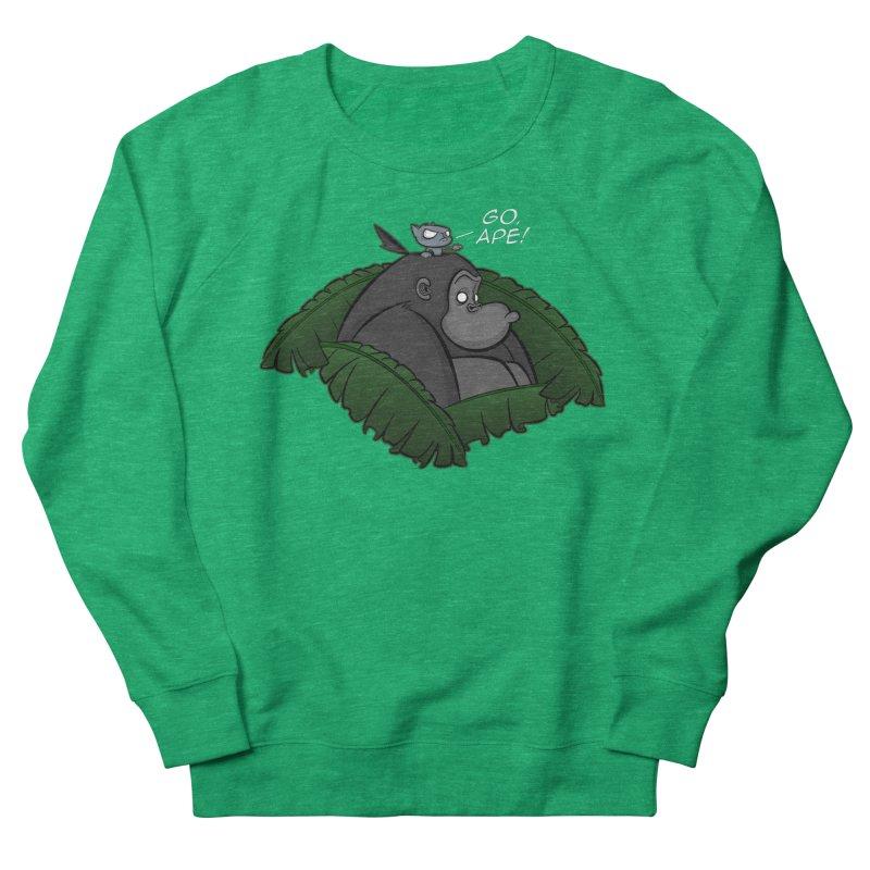 Go, Ape! Women's Sweatshirt by JVZ Designs - Artist Shop