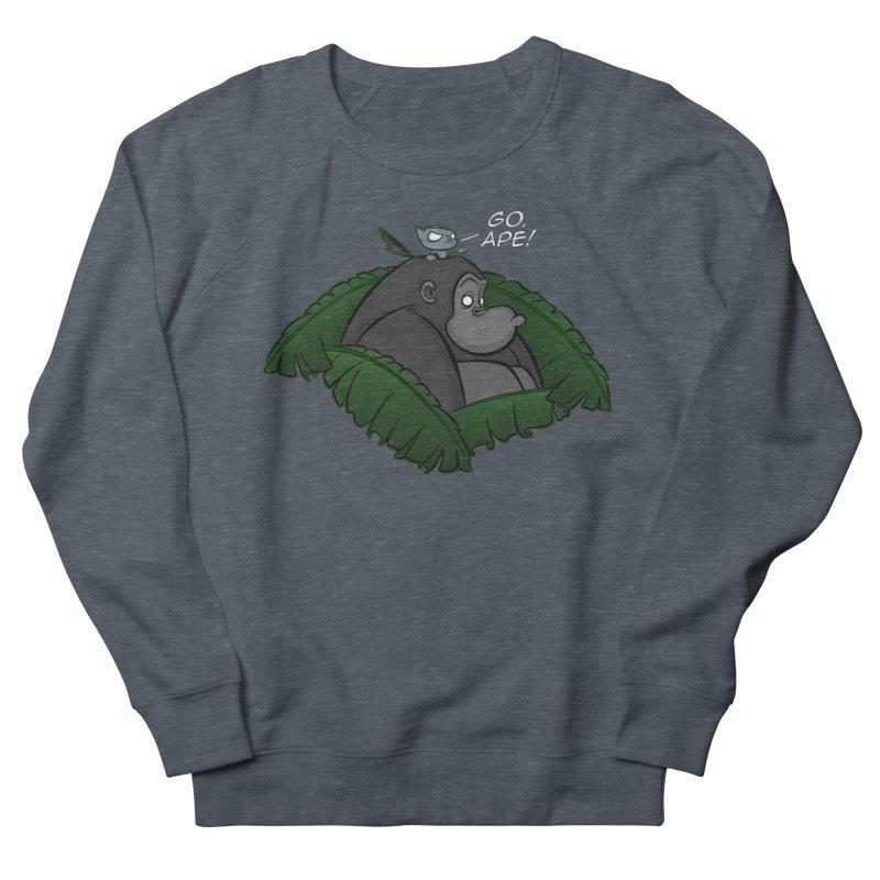 Go, Ape! Men's Sweatshirt by JVZ Designs - Artist Shop
