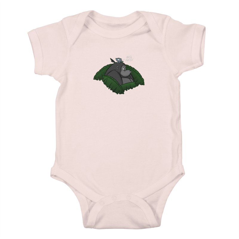Go, Ape! Kids Baby Bodysuit by JVZ Designs - Artist Shop