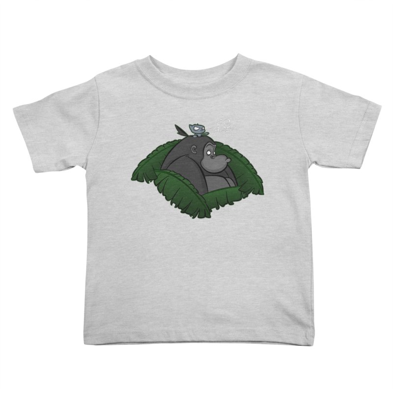 Go, Ape! Kids Toddler T-Shirt by JVZ Designs - Artist Shop