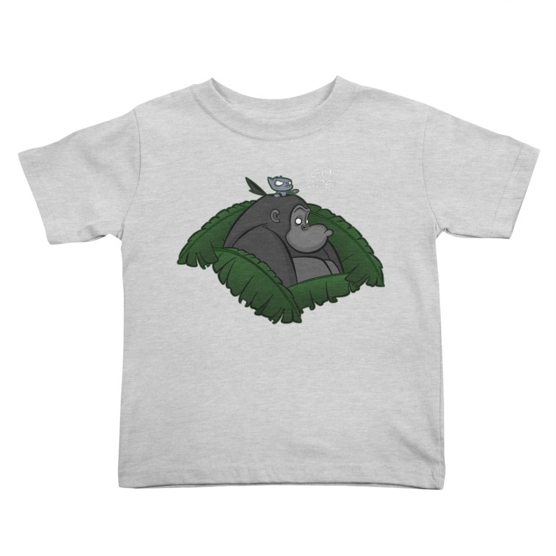 Go, Ape! Kids Toddler T-Shirt by JVZ Designs - Artist Shop