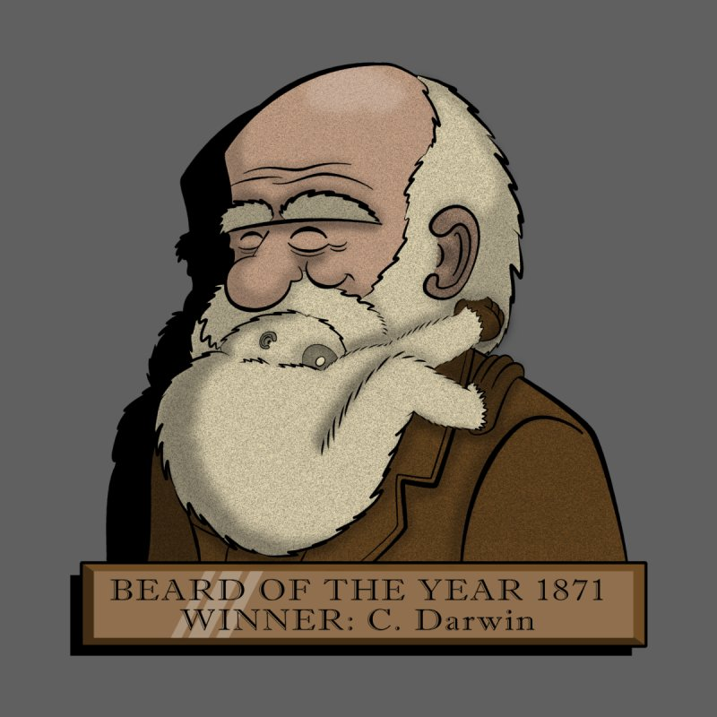 Beard of the Year None  by JVZ Designs - Artist Shop