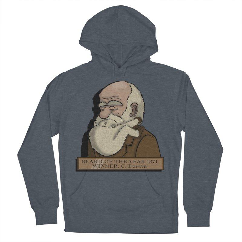 Beard of the Year Women's Pullover Hoody by JVZ Designs - Artist Shop