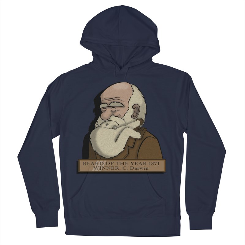 Beard of the Year Men's Pullover Hoody by JVZ Designs - Artist Shop