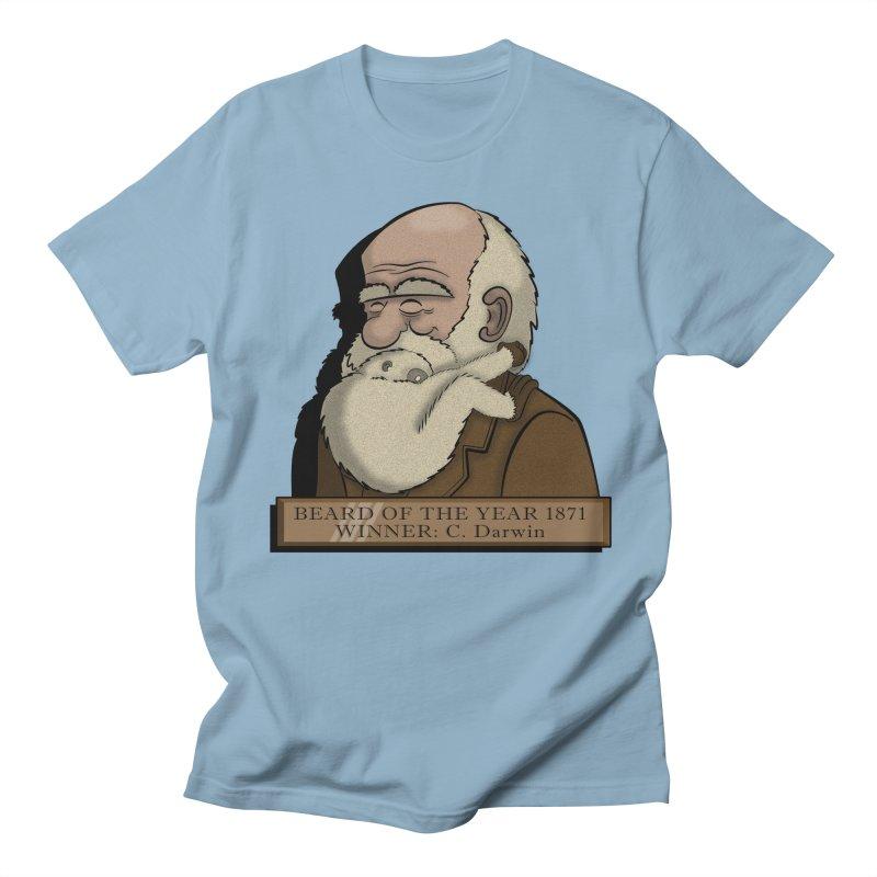 Beard of the Year Men's T-Shirt by JVZ Designs - Artist Shop