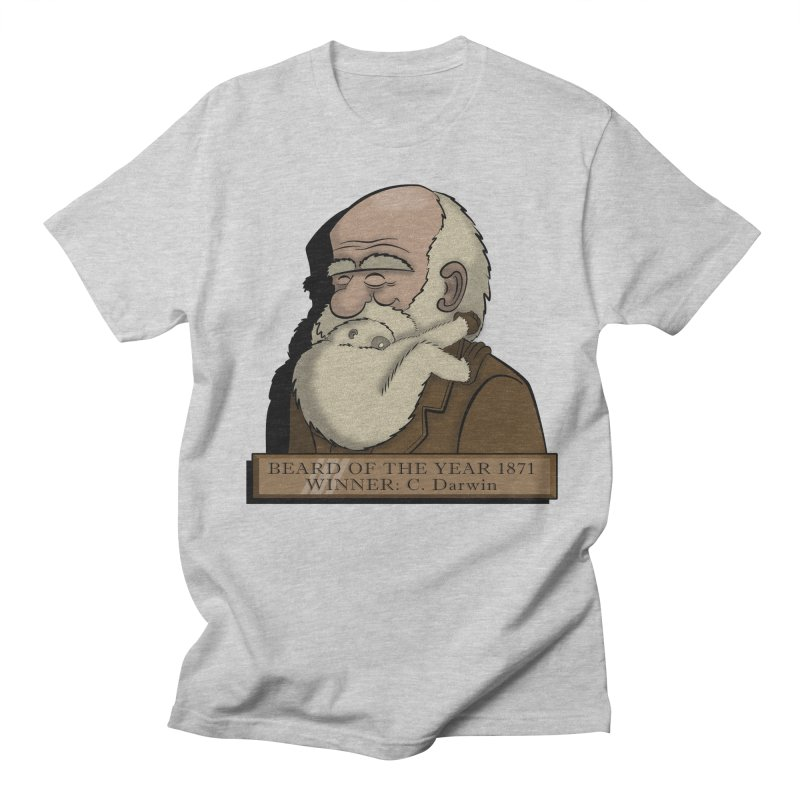 Beard of the Year Men's T-shirt by JVZ Designs - Artist Shop