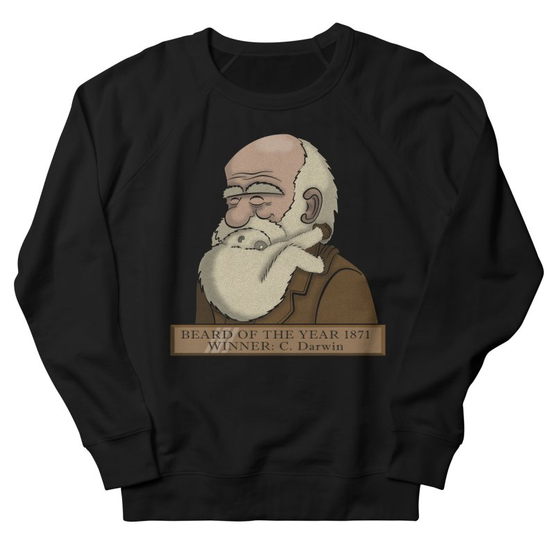 Beard of the Year Women's Sweatshirt by JVZ Designs - Artist Shop