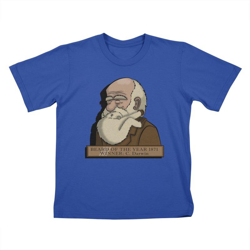 Beard of the Year Kids T-Shirt by JVZ Designs - Artist Shop