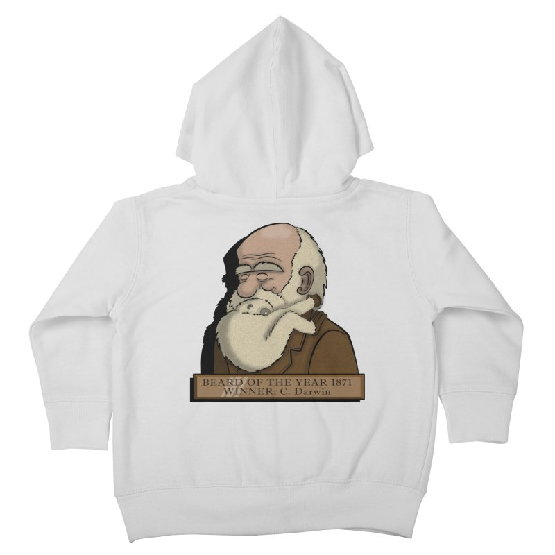 Beard of the Year Kids Toddler Zip-Up Hoody by JVZ Designs - Artist Shop