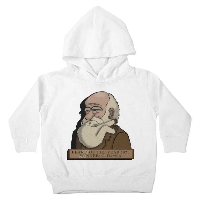 Beard of the Year Kids Toddler Pullover Hoody by JVZ Designs - Artist Shop