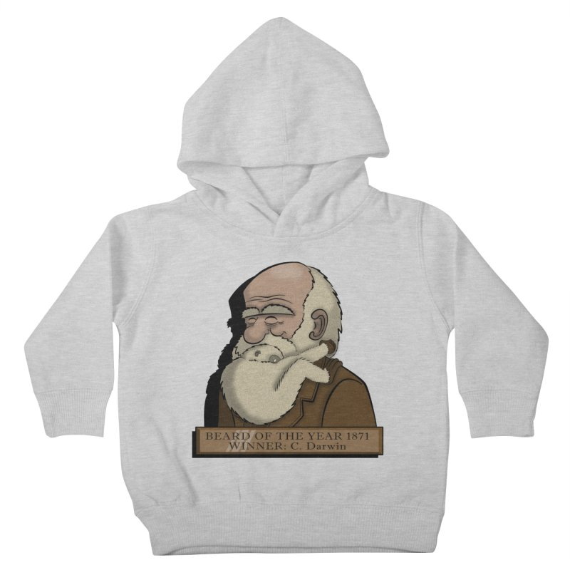 Beard of the Year Kids Toddler Pullover Hoody by JVZ Designs - Artist Shop