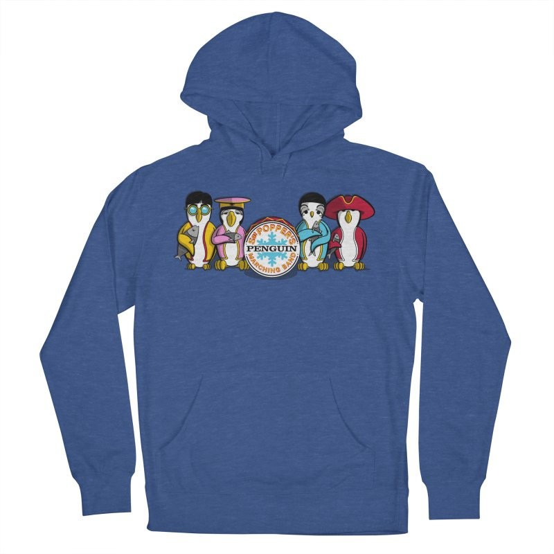 Sgt. Poppers Penguin Marching Band Women's Pullover Hoody by JVZ Designs - Artist Shop