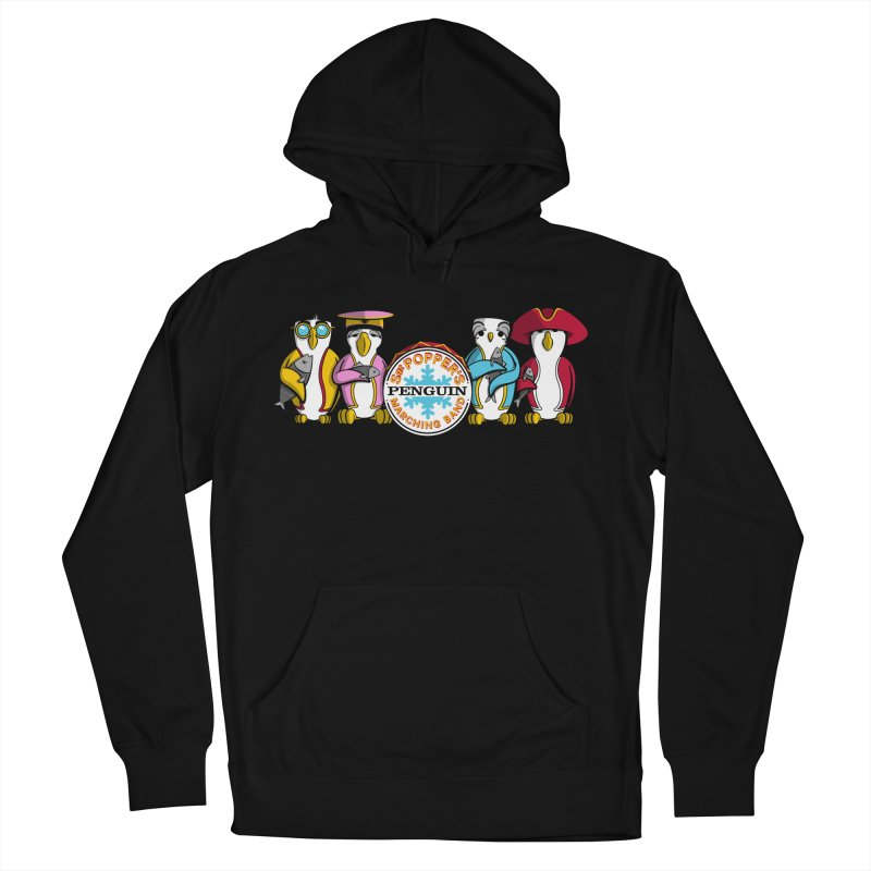 Sgt. Poppers Penguin Marching Band Men's Pullover Hoody by JVZ Designs - Artist Shop