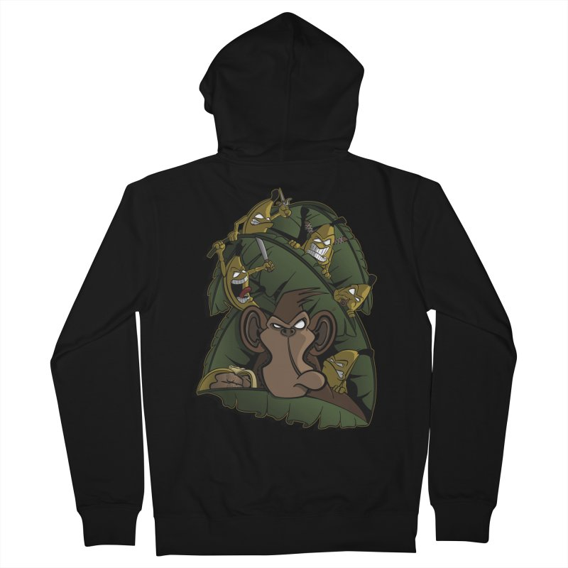 Revenge Men's Zip-Up Hoody by JVZ Designs - Artist Shop