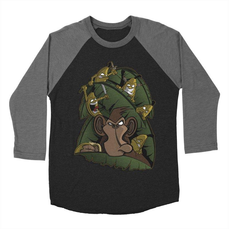 Revenge Men's Baseball Triblend T-Shirt by JVZ Designs - Artist Shop