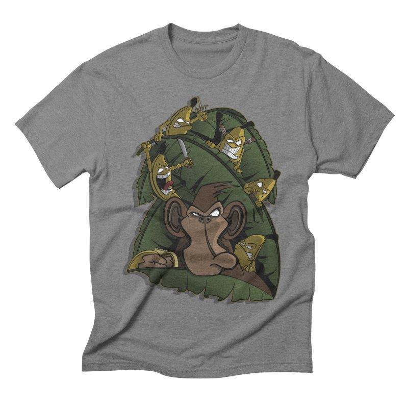 Revenge Men's Triblend T-shirt by JVZ Designs - Artist Shop