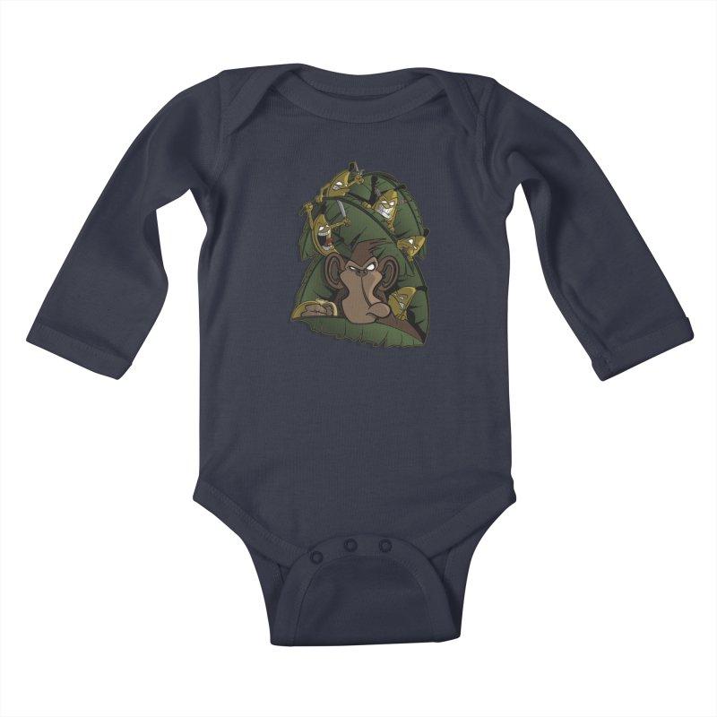Revenge Kids Baby Longsleeve Bodysuit by JVZ Designs - Artist Shop