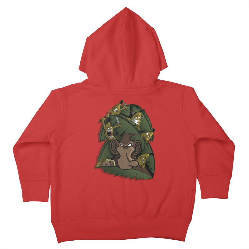 Revenge Kids Toddler Zip-Up Hoody by JVZ Designs - Artist Shop