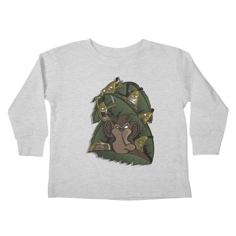 Revenge Kids Toddler Longsleeve T-Shirt by JVZ Designs - Artist Shop