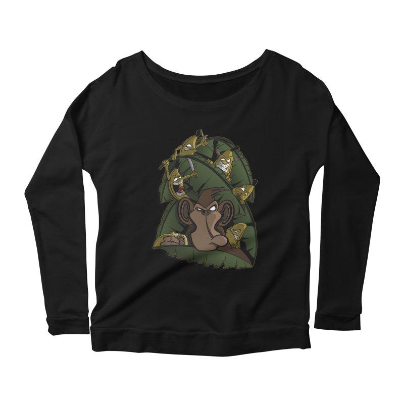 Revenge Women's Longsleeve Scoopneck  by JVZ Designs - Artist Shop