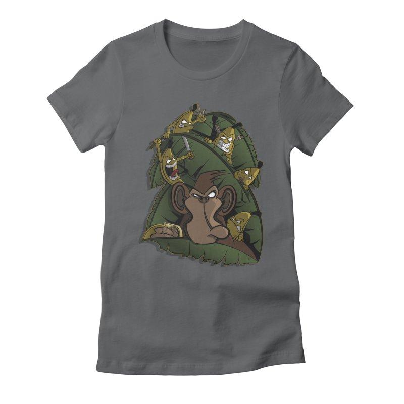 Revenge Women's Fitted T-Shirt by JVZ Designs - Artist Shop