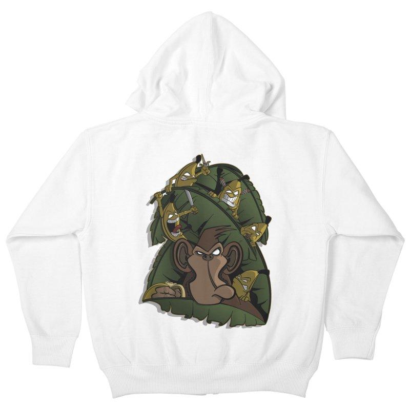 Revenge Kids Zip-Up Hoody by JVZ Designs - Artist Shop