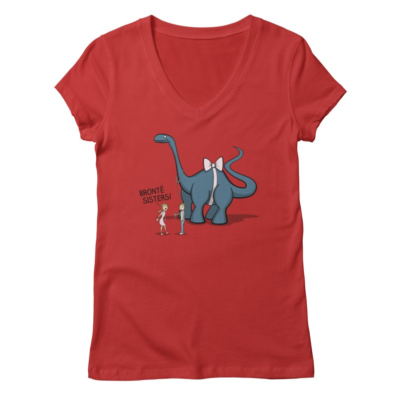 The Gift Women's V-Neck by JVZ Designs - Artist Shop