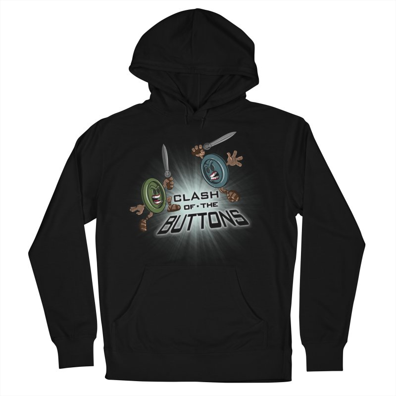 Clash of the Buttons Men's Pullover Hoody by JVZ Designs - Artist Shop